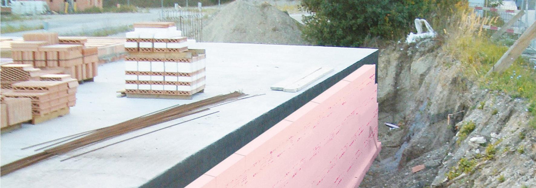 Austrotherm perimeter insulation